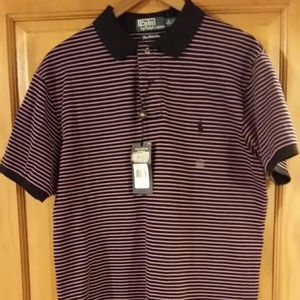 STRIPED POLO BY RALPH LAUREN NWT